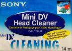 sony mini dv cleaning cassette